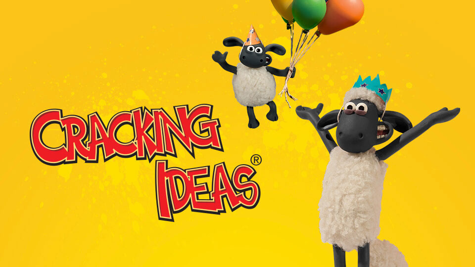 New Cracking Ideas Competition Celebrates 40 Years of Aardman – Shaun the Sheep Birthday Card