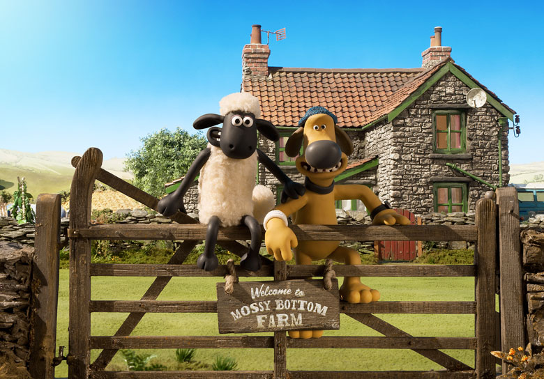 New Tales From Mossy Bottom Farm Books!  Shaun the Sheep