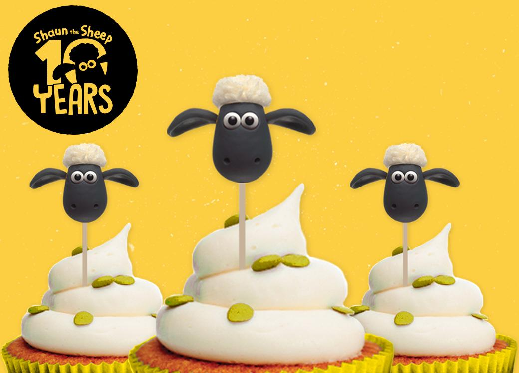 10 Years of Shaun Party Pack: Cupcake
