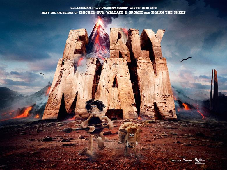 First-Look Poster for Early Man Movie