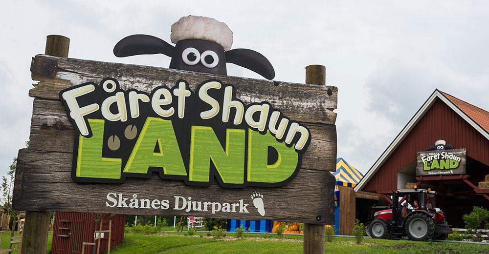 Shaun the Sheep Land Opens in Sweden!