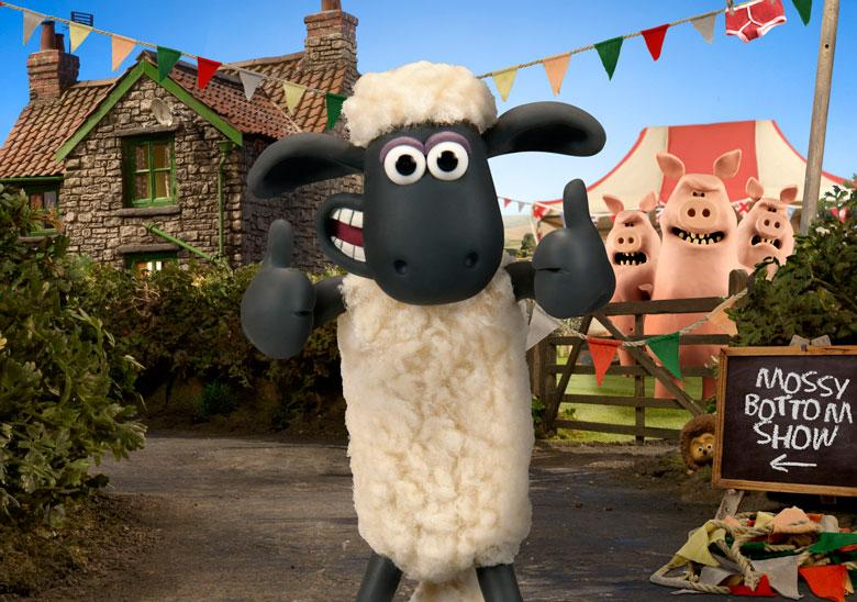 See Shaun's New Puppet Show at Haven Holiday Parks!