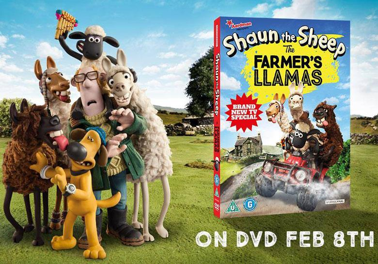 The Farmer's Llamas Out Now in the UK!