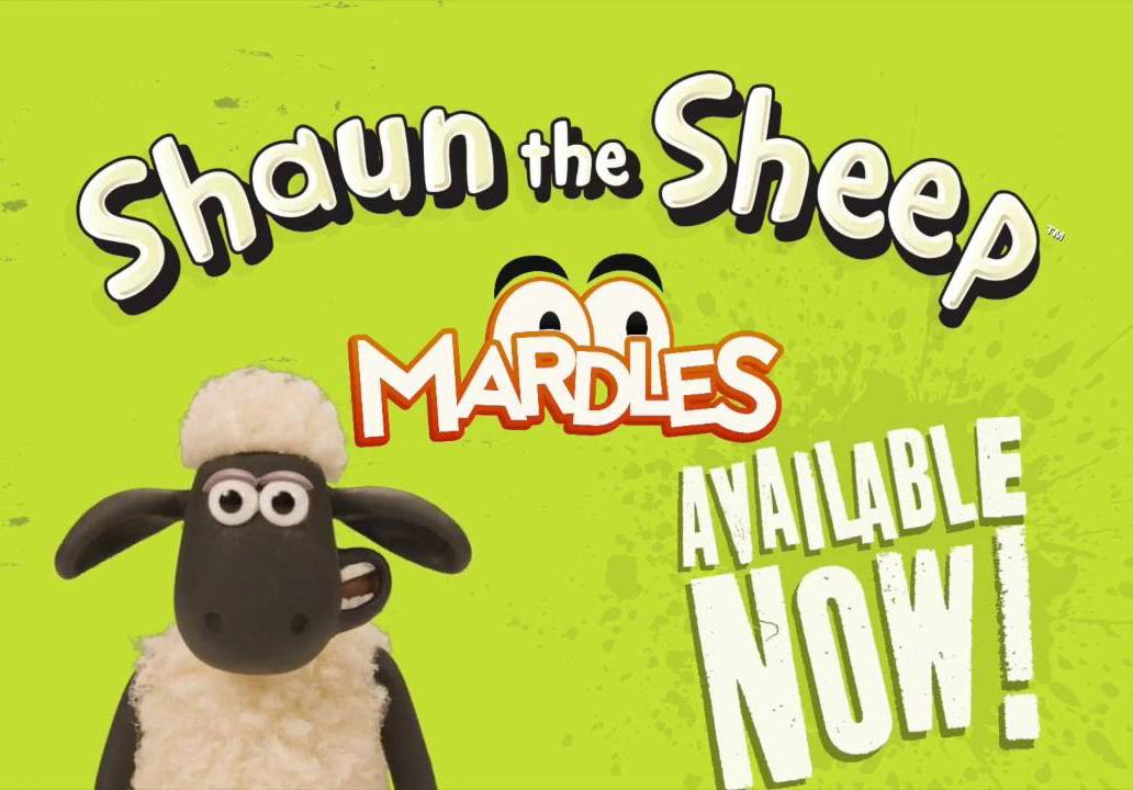 See Shaun Come to Life with Mardles Stickers!