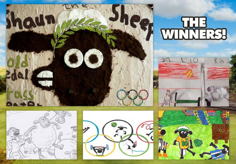 August's Art Yard Winners