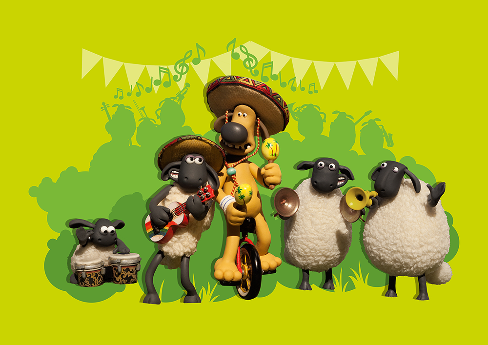 Take Part in Shaun's Vegetable Orchestra