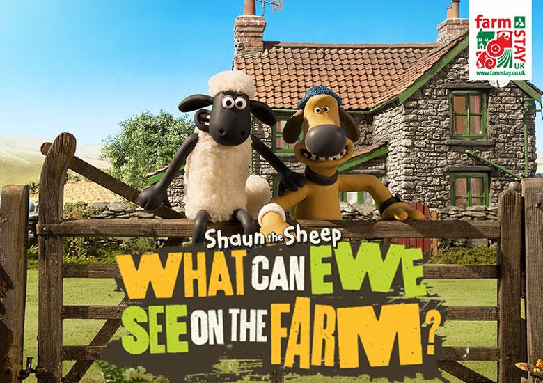Enjoy a Farm Adventure with Shaun the Sheep!