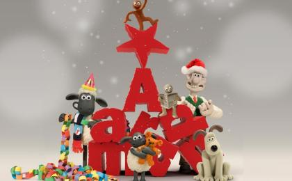 Aardman Christmas UK TV Schedule