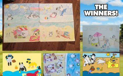 JULY'S ART YARD WINNERS ANNOUNCED!