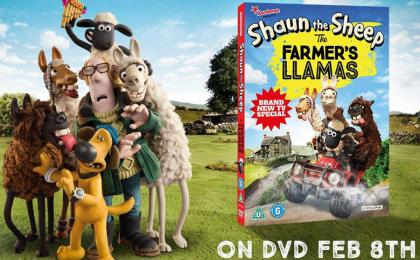 The Farmer's Llamas UK DVD Release!