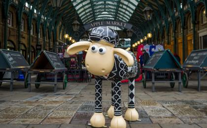 Shaun in the City Exhibition Arrives in
