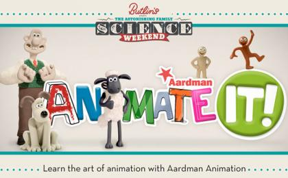 Join Aardman at Butlin's for The