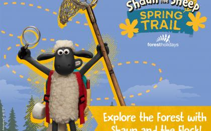 Follow Shaun the Sheep on his spring