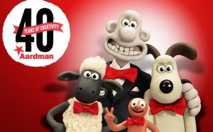 Aardman Celebrates 40 Years of