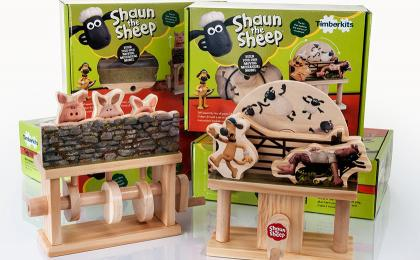 New Shaun the Sheep Timberkit Toys
