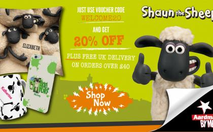 Personalise Your Own Shaun the Sheep