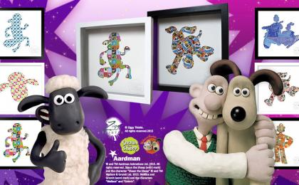 Win a Shaun the Sheep Artwork with