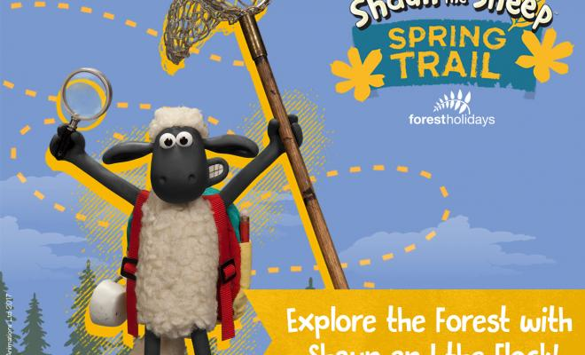 Shaun Trail at Forest Holidays!