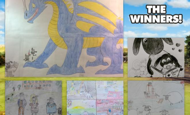 March Art Yard Winners Announced!