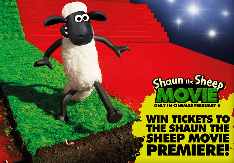 Win Tickets To Shaun S Movie Premiere Shaun The Sheep