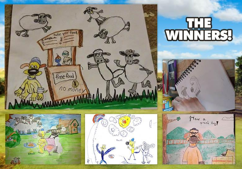 April Art Yard Winners