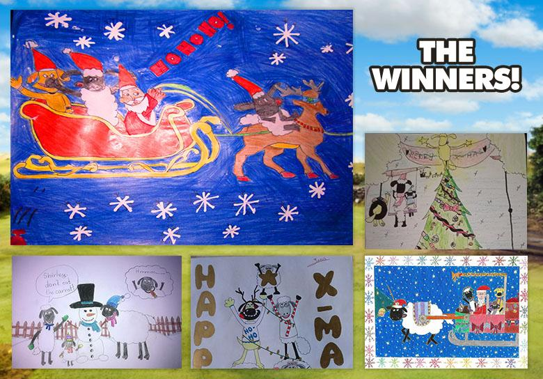 December Art Yard Winners