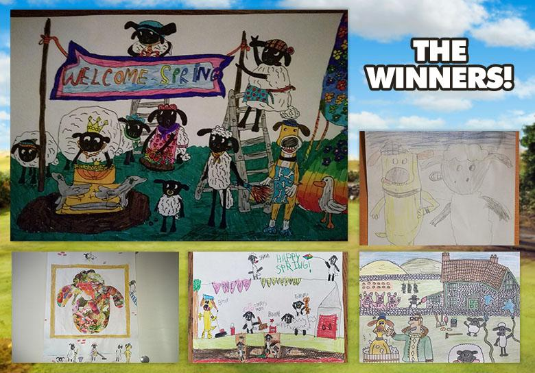 March Art Yard Winners
