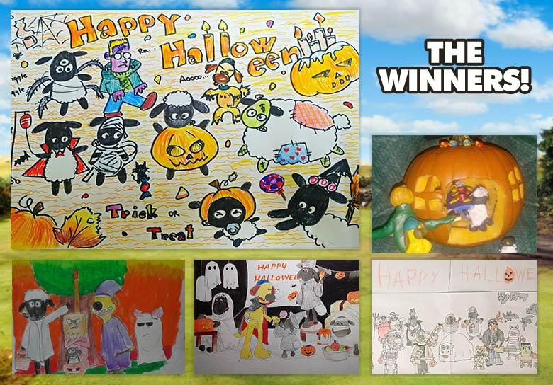 October Art Yard Winners