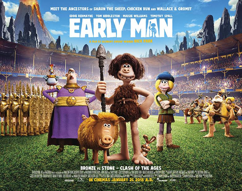 New Trailer for Early Man Released!