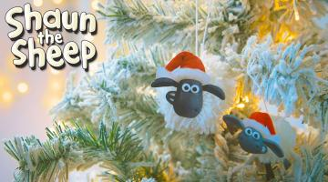 Make a Shaun Bauble!
