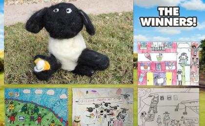 January Art Yard Winners
