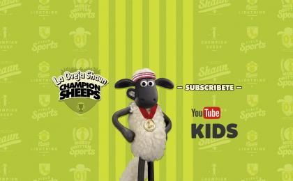 YOUTUBE KIDS & LA OVEJA SHAUN