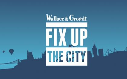 Wallace & Gromit's Fix Up The City is