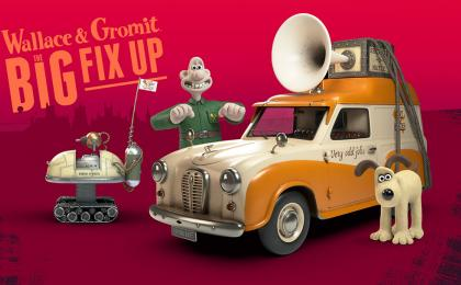 Join Wallace and Gromit for The Big Fix