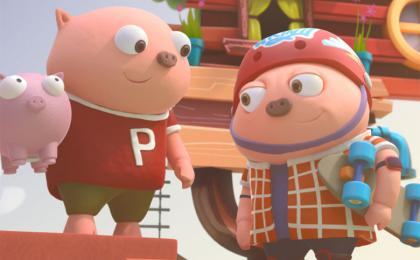 Play Pigby's Tales and Win a Scooter!