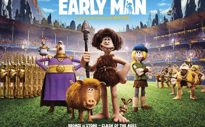 New Trailer for Nick Park's Early Man