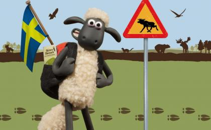 Shaun the Sheep Land Comes to Sweden!