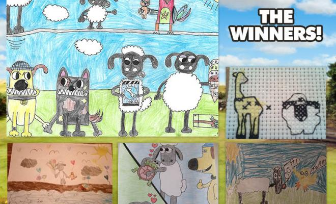 August Art Yard Winners