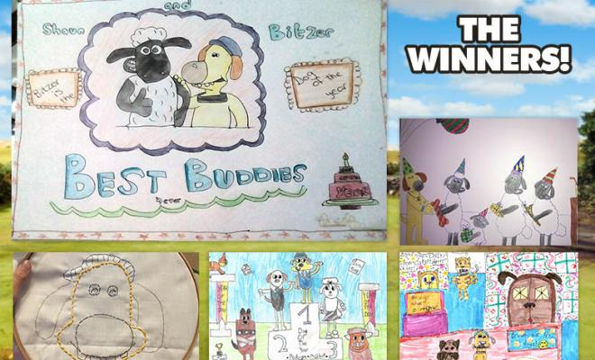 February Art Yard Winners