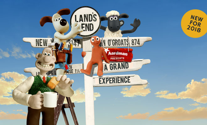 A Grand Experience Opens at Land's End!