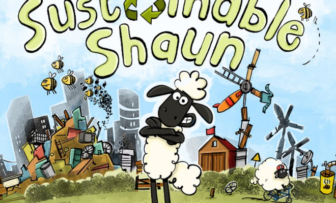 Sustainable Shaun Game Launches Across the EU!